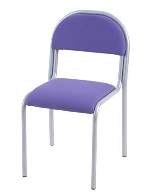Stolar klädda med tyg eller konstläder